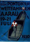 Pontonier Wettfahren Aarau 1930 Switzerland, Event Posters