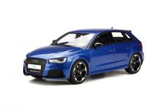 GT Spirit has grown a strong name for itself in building some of the coolest resin models and yet holds them to a reasonable price. Audi aficionados in particular should make sure they're familiar with the manufacturer, given their breadth of scale model cars… just like this 2015 Audi RS 3.    <em>– Bill@ChoiceGear</em>