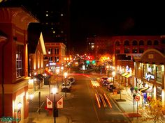 A Sat. night at Pullman Square Huntington, West Virginia ♥ my hometown ♥