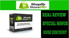 Shopify Store Pro Real Review And Huge Bonus|Shopify Store Pro Live Demo of a Real User