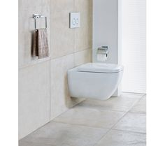 Klosettsete med SoftClose, skjult feste Toilet, Bathroom, Washroom, Flush Toilet, Full Bath, Toilets, Bath, Bathrooms, Toilet Room