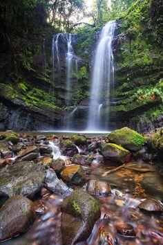 Las Delicias Falls in Ciales, Puerto Rico.   Puerto Rico ☀️