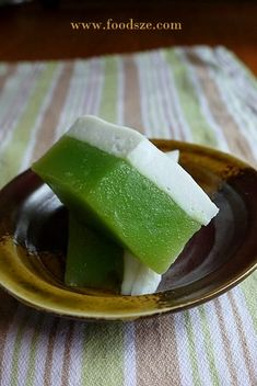 my all time favourite – Kuih Talam Continuing on with my Kuih-making frenzy, I now present you this mouth-watering Kuih Talam: a soft and springy treat combining the sweetness and fragrance o…