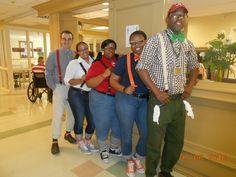 national nursing home week activity themes pinterest