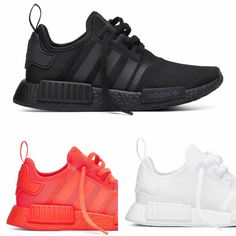 db0c99829f8b2 Links To Buy Black Red White Monochrome NMD Pack Adidas Nmd