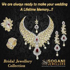 #Customs & #Traditions are what make every culture so unique in the way they lead their lives. Be it their day to day agendas or something as significant as a #Wedding. #Sogani #Jewellers offers stunning #Bridal #Jewellery #Collection. The #Jewellery is not only stunning in terms or the #designs and #craftsmanship but is also created keeping in the mind the #Customs and #Traditions of #Indian #Culture. #Sogani_Jewellers  C-19, Vaishali Marg, Vaishali Nagar Jaipur. Call- +919799809156…