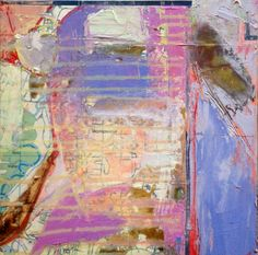 """""""Montowese Mapscape"""" by Helen Cantrell, Mixed Media on Wooden Panel, 12"""" x 12"""""""