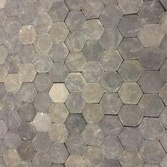 Natuursteen Hexagon mozaiek Silva Grey 30 x 30