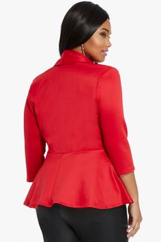 Plus Size Chantelle Peplum Top Valentine's Day Outfit, Outfit Of The Day, Plus Size Peplum, Fashion To Figure, Girl Closet, Plus Size Tops, Plus Size Fashion, Curvy, My Style