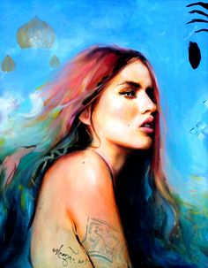 Beautiful Paintings and Drawings by Charmaine Olivia