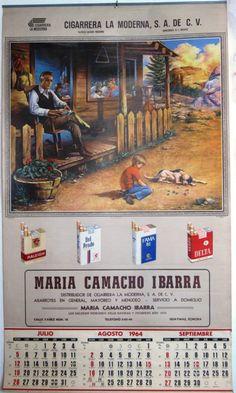 Calendarios Mexicanos | Biblioteca Infernal