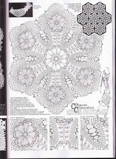 View album on Yandex. Filet Crochet, Form Crochet, Crochet Mandala, Thread Crochet, Knit Or Crochet, Crochet Doilies, Crochet Stitches, Crochet Motif Patterns, Lace Patterns