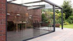 Alu Terrassenüberdachung aus Aluminium-Profilen | Wohnen im Garten