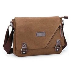 10c54e4bdf Ibagbar Vintage Military Cotton Canvas Messenger Bag Shoulder Crossbody  Satchel Bag Bookbag Laptop Bag Working Bag for Men and Women Product  Features  - ...