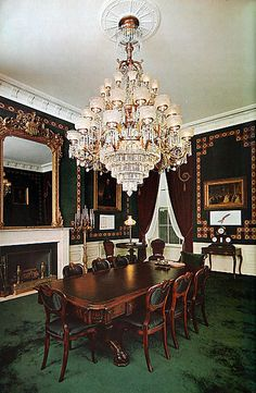 Treaty Room during Kennedy era