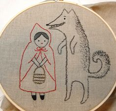 Denise Loves Art: Make A fun and Easy Hand Embroidery Wall Hanging