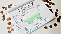 Money Saving Plan Layout | How to use your bullet journal to keep track of your budget and savings. Financial planning using your bullet journal!