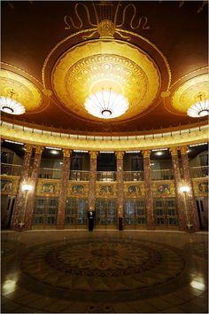 Lobby, Severance Hall, Cleveland, Ohio