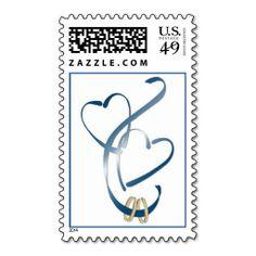 Thank You Postage Weddings Wedding Postage Stamps Pinterest