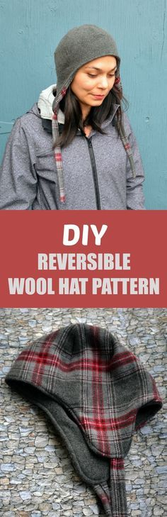 DIY Reversible Wool