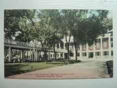 Bedford Springs Hotel Pennsylvania Pa Vintage Postcard