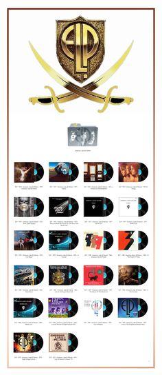 Album Art Icons: Emerson Lake & Palmer