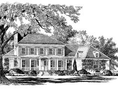 Floor Plan AFLFPW16229 - 2 Story Home Design with 4 BRs and 3 Baths PERFECT LAYOUT EXACTLY WHAT WE WANT