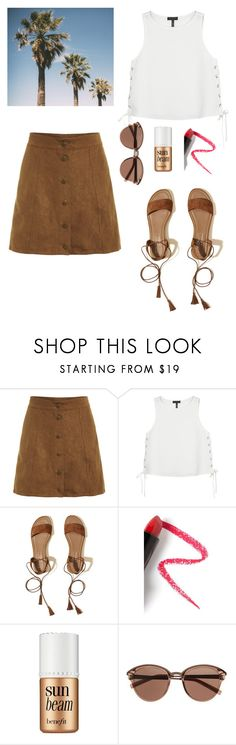 """""""Untitled #243"""" by reham-999 ❤ liked on Polyvore featuring rag & bone, Hollister Co., Lapcos, Benefit and Witchery"""