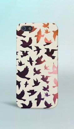 Galaxy x Birds Phone Case