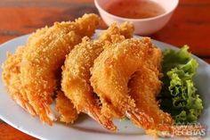 Receita de Empanado de camarão em Salgados, veja essa e outras receitas aqui!