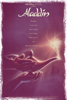 Aladdin : See All 53 Walt Disney Animation Movie Posters Disney Films, Walt Disney Animated Movies, Animated Movie Posters, Walt Disney Characters, Disney Wiki, Aladdin Film, Aladdin 1992, Watch Aladdin, Aladdin Lamp
