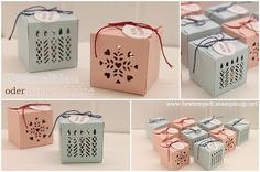 Stampin`Up! Giftbox Punchboard, Geschenkboxen Falzbrett, Fensterschachtel, Window Box Thinlits Dies