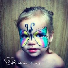 easy kids make up Halloween Kids, Halloween Makeup, Halloween Costumes, Freelance Makeup Artist, Kids Makeup, Welcome To The Jungle, Make Up, Butterfly, Image