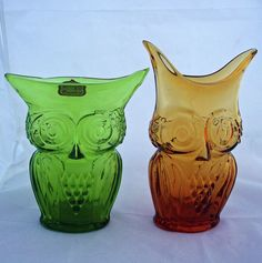 Viking Glass owls reminds me of something my mom would like
