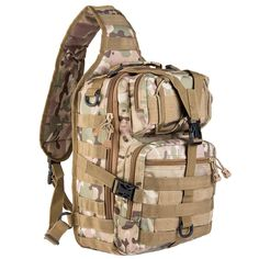 Sports & Entertainment Smart Tactical Sling Military Backpack For Men Bag Molle Fishing Hiking Hunting Molle Bags Sports Bag Lady Chest Body Single Shoulder Yet Not Vulgar Camping & Hiking