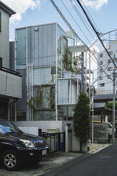 House NA  Architect: Sou Fujimoto 藤本壮介 Location: Tokyo, Japan Completion year: 2011