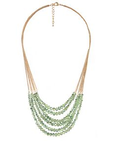 Opaque Beaded Necklace | FOREVER21 - 1000045210