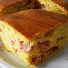 Portuguese Recipes, Snack, Crepes, Bread Recipes, Sandwiches, Food And Drink, Yummy Food, Homemade, Baking