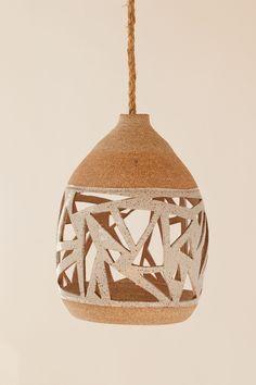 Porcelain Ceramics, Ceramic Pottery, Ceramic Art, Pottery Workshop, Pottery Studio, Ceramic Light, Natural Interior, African Design, Tea Light Holder