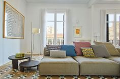 built arquitectura / reforma apartamento a-b, eixample barcelona