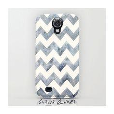 Samsung Galaxy S4, Phone Case, Raining Chevron, Alloy Chevron, Grey Chevron, Watercolor painting by Suisai Genki, Grey, Black, White, Alloy Click and win a Samsung Galaxy S IV #samsung #galaxy #s4