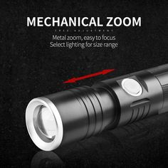XANES S1 230LM 3 Modes Multifunction Waterproof Zoomable Magnetic Base LED Flashlight & Screwdriver Light Flashlight, Holiday Lights, Led Strip, To Focus, Strip Lighting, Magnets, Bulb, Linear Lighting, Onions