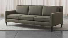 Rochelle Sofa, Crate and Barrel. Also comes in apartment size.