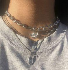 Cute Jewelry, Silver Jewelry, Goth Accessories, Grunge Jewelry, Jordan Shoes Girls, Accesorios Casual, Jewelery, Handmade Jewelry, Fashion Jewelry