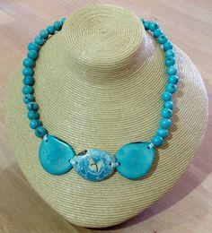 Jeri from Pretty Pink Edinburgh Turquoise Necklace, Beaded Necklace, Edinburgh, Pretty In Pink, Shopping, Jewelry, Fashion, Jewlery, Fashion Styles