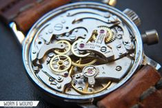 HAMILTON_7730_MOVEMENT - hand wound chronograph