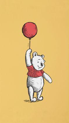 Winne The Pooh, Winnie The Pooh Friends, Cute Cartoon Wallpapers, Cute Wallpaper Backgrounds, Cute Animal Drawings, Cute Drawings, Winnie The Pooh Background, Cute Disney Pictures, Future Wallpaper