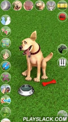 Talking John Dog & Soundboard  Android App - playslack.com ,  Talk to John Dog. He answers with his funny voice and reacts to what you say or your touch. With 4 exciting inside games with many levels to play!Become the owner of this slightly loony dog and share some amusing experiences with him. He does pretty much the same things a normal dog would do, but in his own foolish way.★★★ Features: ★★★✔ High quality 3D graphics✔ Voice interaction/animations✔ Exciting touch game with 20 levels…