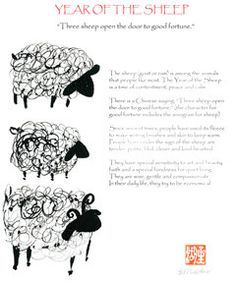 chinese new year sheep crafts - Google Search