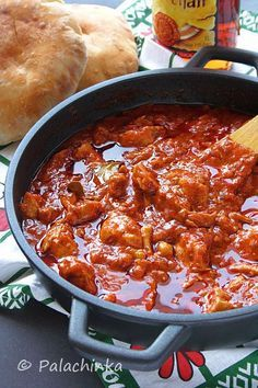 Istarski pileći gulaš i njoki - Istrian chicken goulash with gnocchi Croatian Cuisine, Hungarian Cuisine, European Cuisine, Bosnian Recipes, Croatian Recipes, Hungarian Recipes, Goulash, Macedonian Food, Gastronomia